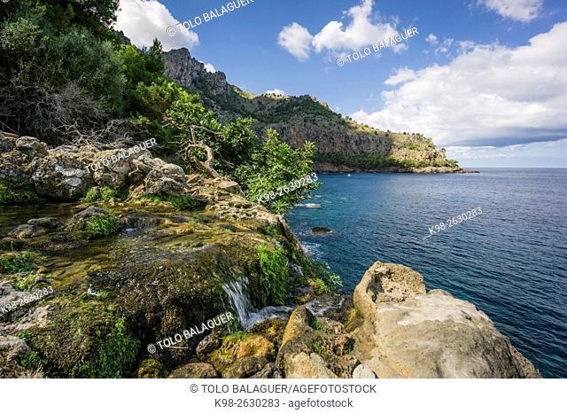 Font des Verger, Sa Costera, Soller, parque natural sierra de Tramuntana, Mallorca, spain, europe
