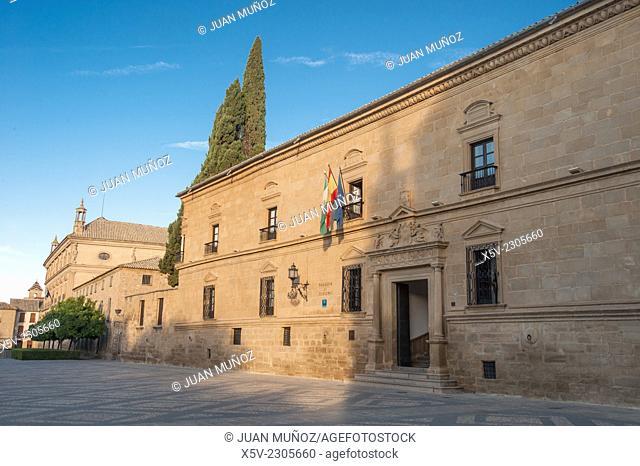 Parador de Ubeda. Renaissance Plaza Vazquez de Molina. Ubeda. Jaen. Andalucia. Spain