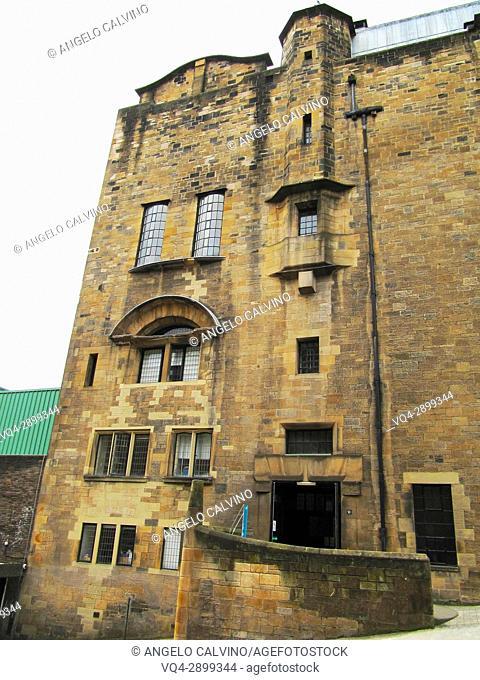 Glasgow School of Art ART SCHOOL GLASGOW Building designed by Charles Rennie Mackintosh