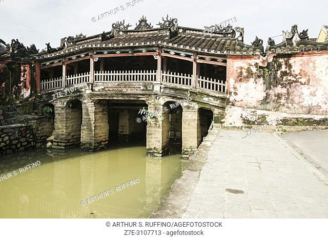 Japanese Bridge, Hoi An, historical town, UNESCO World Heritage Site, Quang Nam Province, Da Nang, Vietnam, Southeast Asia