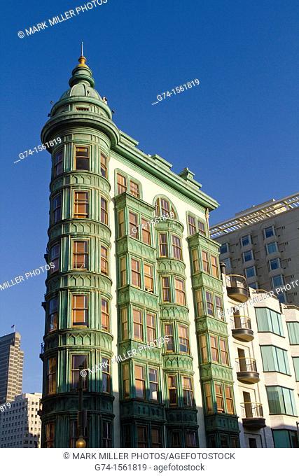 Columbus Tower,San Francisco, California, USA