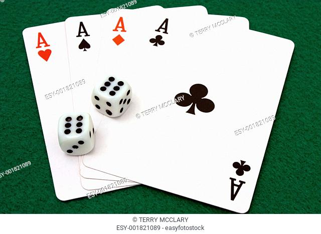 Four Aces and Double Sixes