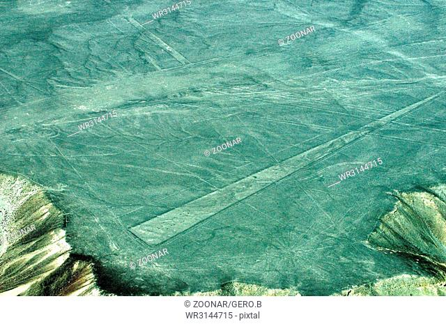 Nazca the famous lines in Peru