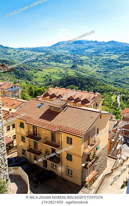 Republica di San Marino, residential building (Italy)