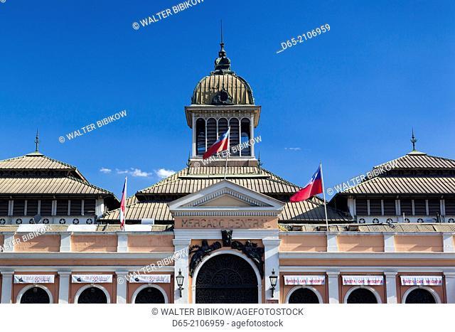 Chile, Santiago, Mercado Central, central market, exterior
