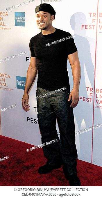 Actor Will Smith attends the screening of RAISING HELEN held at the Tribeca Performing Arts Center for the 2004 Tribeca Film Festival May 1
