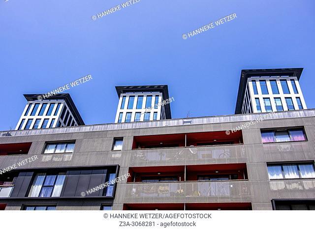 Modern architecture in Brussels, Belgium, Europe