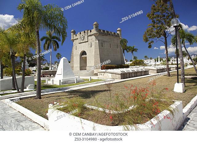 View to the Sta. Ifigenia cemetery-Cementerio Sta. Ifigenia at the city center, Santiago de Cuba, Central America