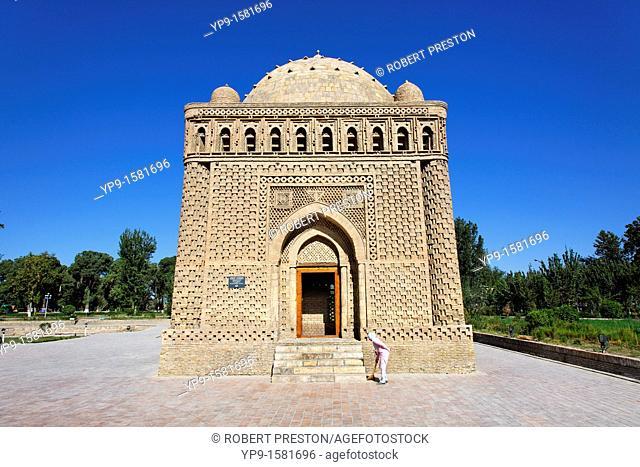 The Ismail Samani Mausoleum, Bukhara, Uzbekistan