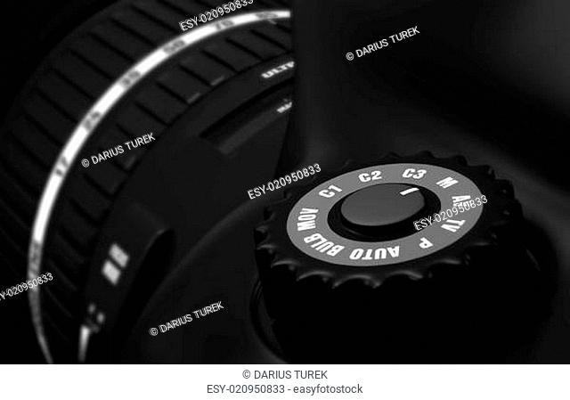 Digitale Spiegelreflexkamera - DSLR Detail 1