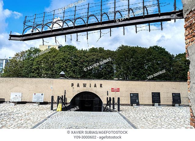 Pawiak former prison, Warsaw, Poland