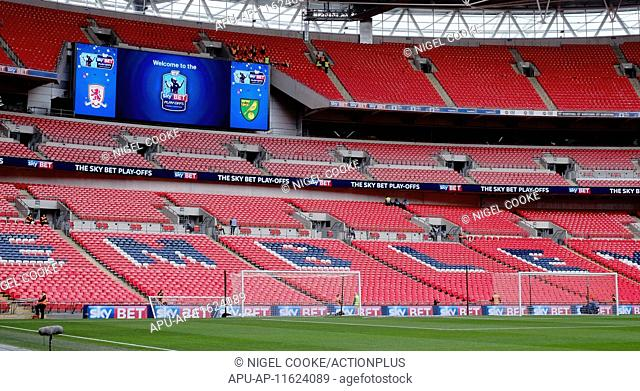 2015 Skybet Championship Playoff Final Middlesborough v Norwich May 25th. 25.05.2015. London, England. Skybet Championship Playoff Final