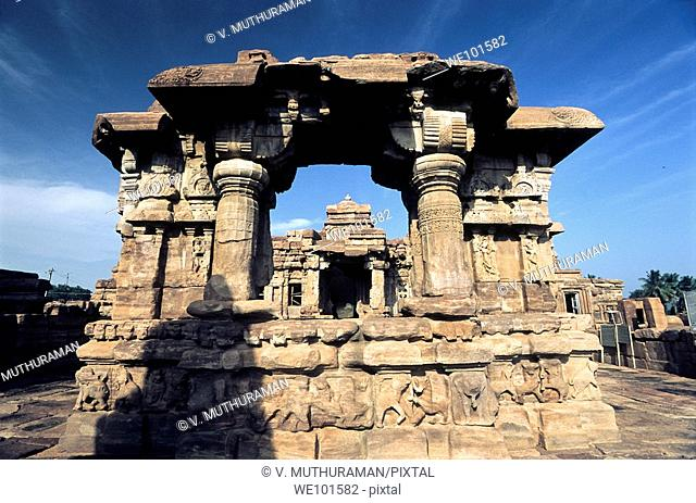 The Mallikarjuna Temple740 a d in Pattadakal was built by Trilokya Mahadevi, who was the second queen of Vikramaditya II  The purpose behind the erection of a...