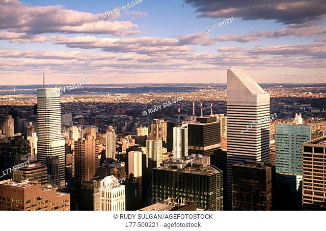 Buildings in New York City. USA