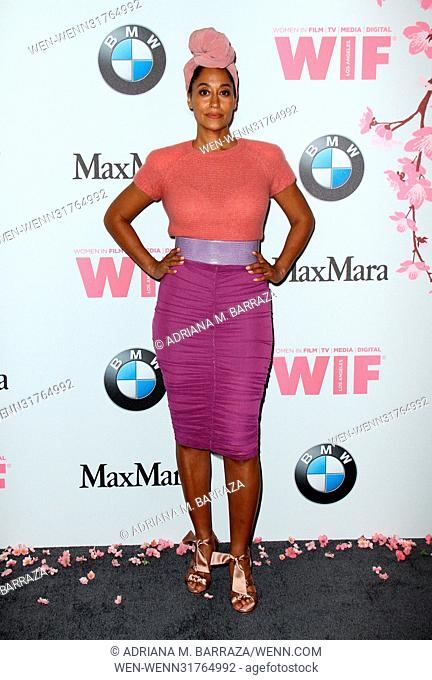 Women In Film 2017 Crystal + Lucy Awards held at The Beverly Hilton Hotel. Featuring: Tracee Ellis Ross Where: Los Angeles, California