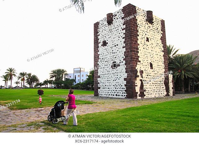 Tower of El Conde, San Sebastian de La Gomera. Canary islands