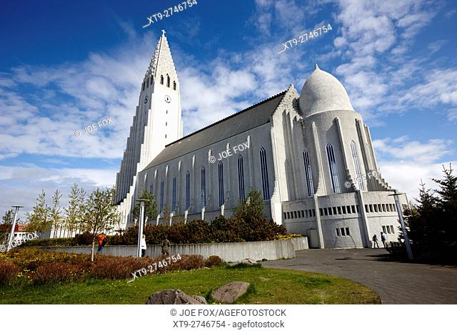 hallgrimskirkja reykjavik church of Iceland