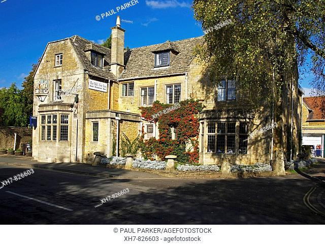 The Old New Inn, in the Village of Bourton on the Water, in the Cotswolds, England, UK