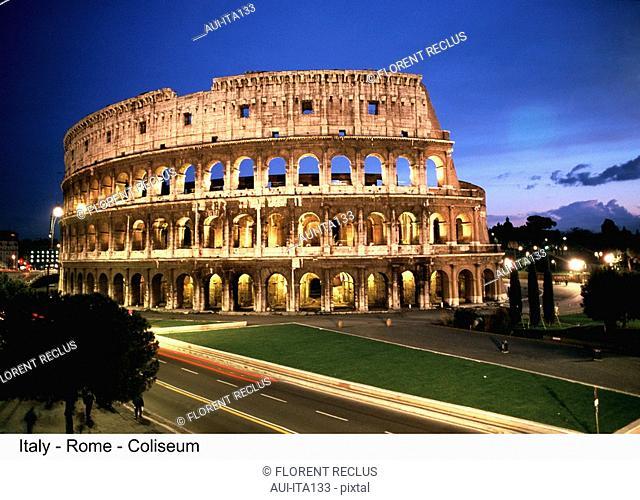 Italy - Rome - Coliseum