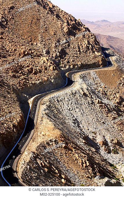 Highway. Mexicali. Baja California, Mexico