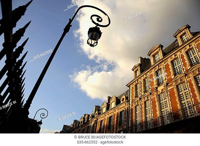 Place des Vosges. Paris. France