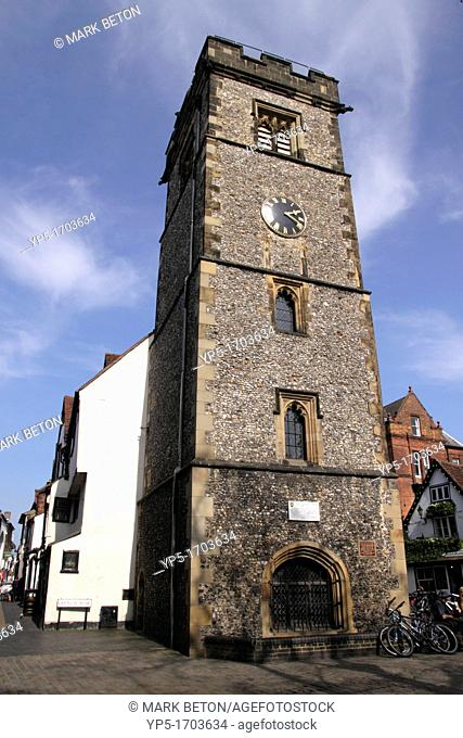 The Clock Tower Market Place St Albans Hertfordshire