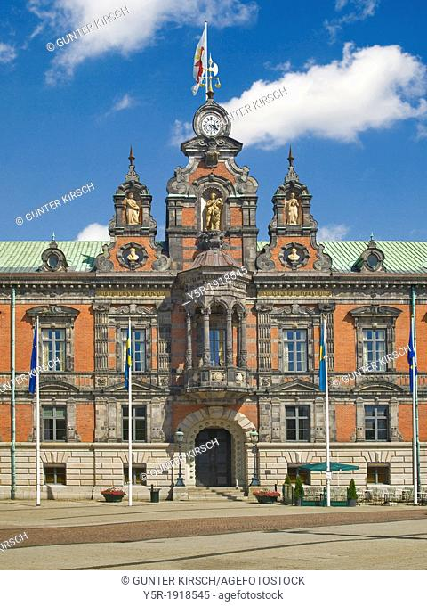 1546 build guildhall, Malmö Municipality, Skane County, Sweden, Europe