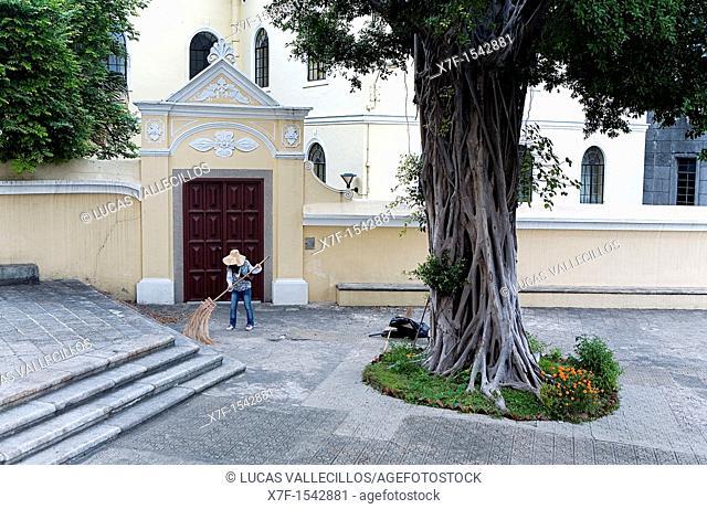 Entry to, St Joseph Church,Macau,China