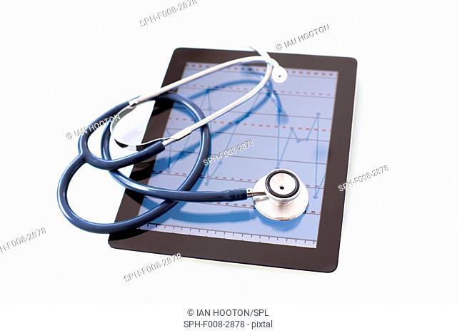 Telemedicine, conceptual image