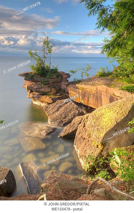 Big Bay Point, Big Bay State Park, Madeline Island, Wisconsin, Lake Superior