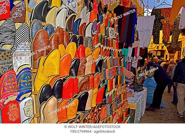 At the Souk, Medina, Fes, Middle Atlas, Morocco