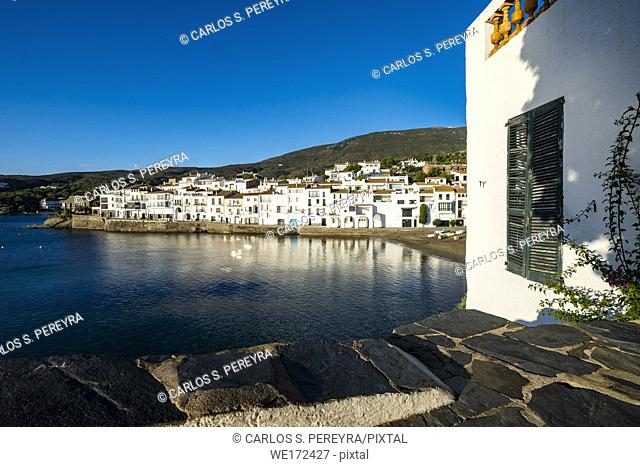 The fishing village of Cadaques is one of the most visited tourist destinations on the Costa Brava in the province of Girona in Catalonia Spain