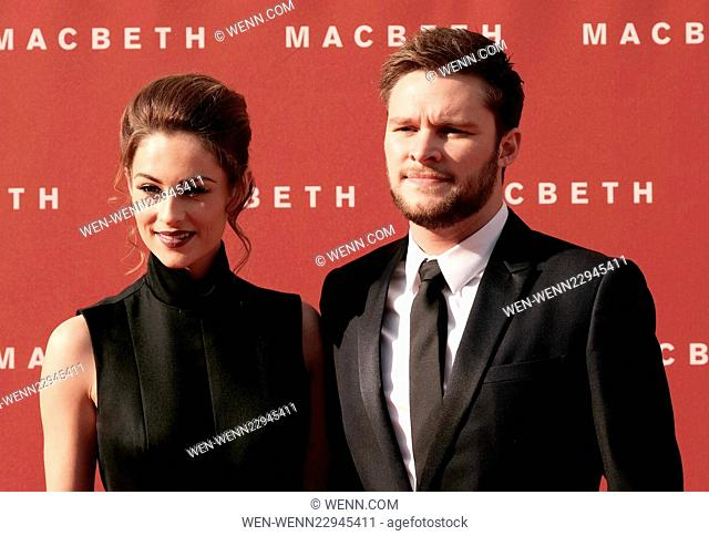 UK premiere of 'Macbeth' held at the Festival Theatre - Arrivals Featuring: Madeline Mulqueen, Jack Reynor Where: Edinburgh