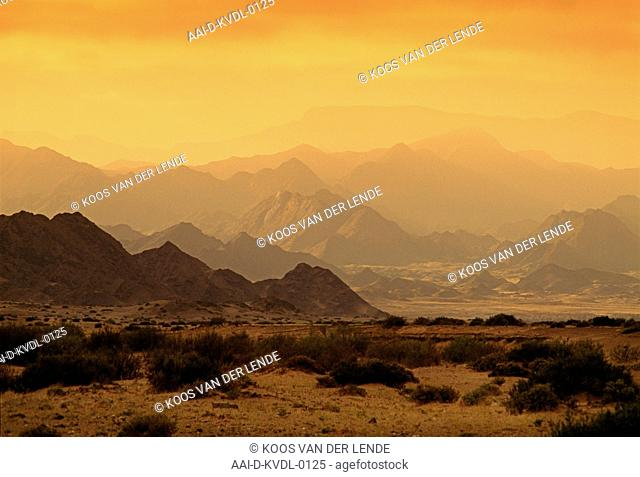 Scene, mountains, Ai-Ais-Richtersveld, Namibia