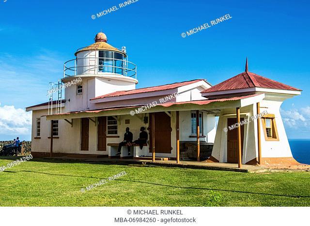 Fort King George, Scarborough, Tobago, Trinidad and Tobago, Caribbean