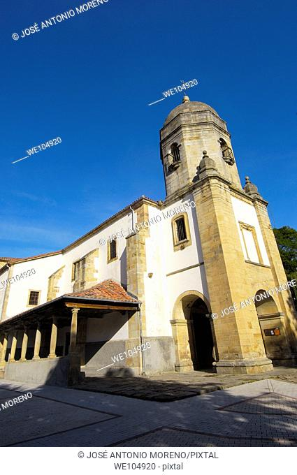 Church of Santa Maria de Sabada, Lastres, Colunga, Asturias, Spain