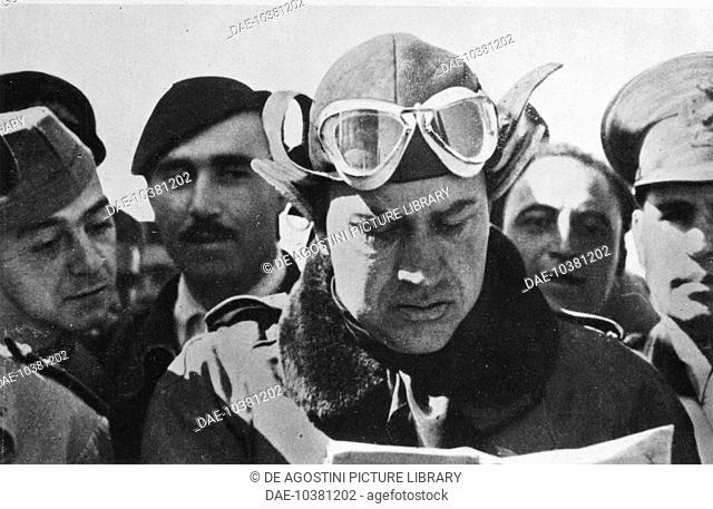 Galeazzo Ciano (1903-1944), in an aviator uniform, Italy, 20th century