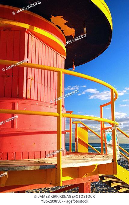 Art Deco Life Guard Tower on South Beach