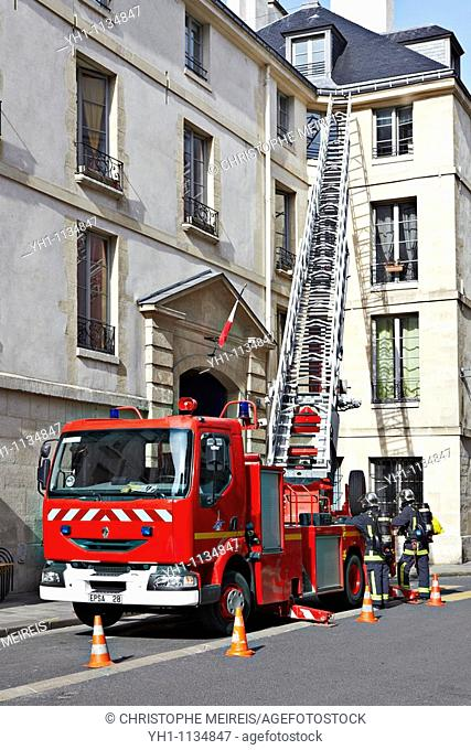 Paris Fire Truck