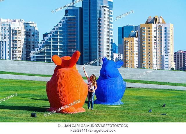 Heydar Aliyev Center, Baku City, Azerbaijan, Middle East