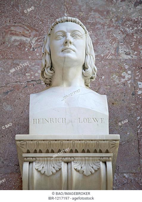 Bust of Heinrich der Loewe, Duke of Saxony and Bavaria