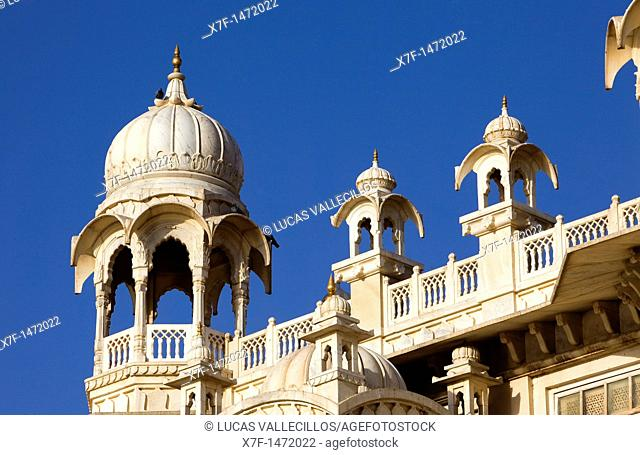 Detail of Jaswant Thada, 1899, Memorial to Maharaja Jaswant Singh II,Jodhpur, Rajasthan, India
