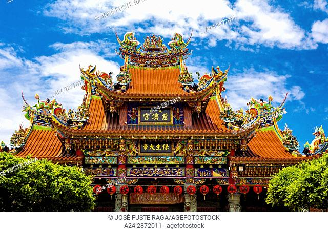 Taiwan, Kaohsiung City, Tsoying District, Lotus Pond, Temple of enlightment