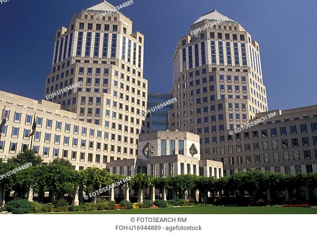 Cincinnati, OH, Ohio, Proctor and Gamble Buildings from park in downtown Cincinnati