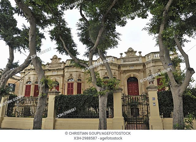 villas near San Anton Palace, Attard, Malta, Mediterranean Sea, Southern Europe