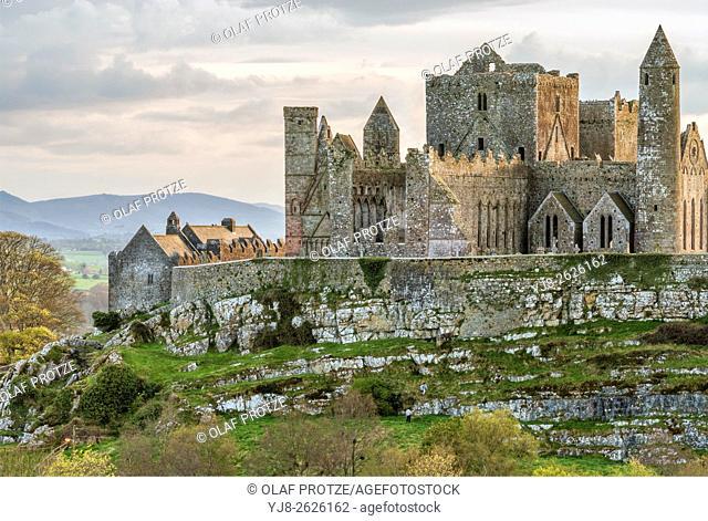 Ruins of Castle Rock of Cashel, Tipperary, Ireland