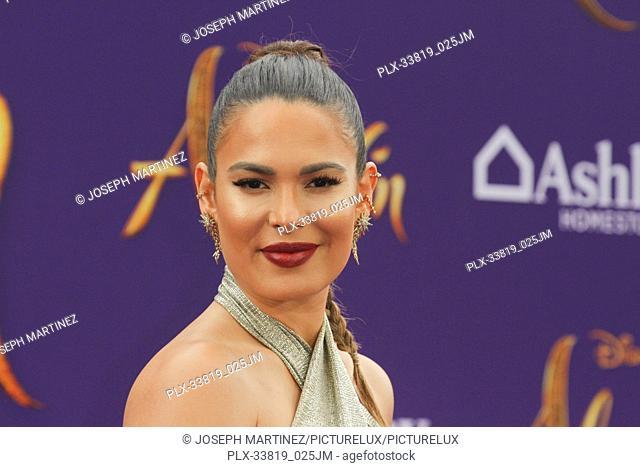 "Nadine Velasquez at The World Premiere of Disney's """"Aladdin"""" held at El Capitan Theatre, Hollywood, CA, May 21, 2019. Photo Credit: Joseph Martinez /..."