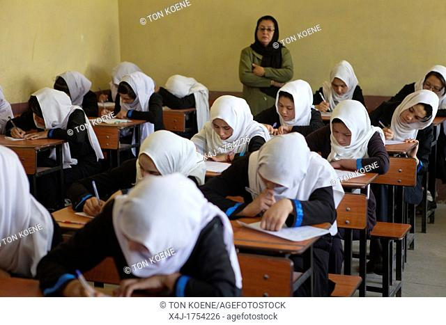 girls-school in Kabul, Afghanistan