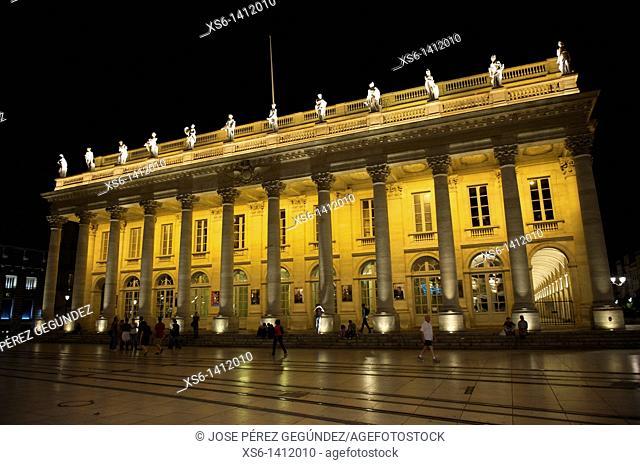 Burdeos Bordeaux, capital de Aquitaine