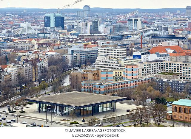 The New National Gallery, Berlin, Germany